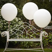 Picture of Vintage Affair - Huge Balloons - White