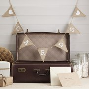 Picture of Vintage Affair - Hessian Bunting - Cards