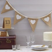 Picture of Vintage Affair - Hessian & Lace Bunting