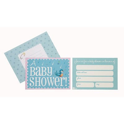 Picture of Baby On Board - Invites & Envelopes