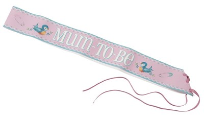 Picture of Baby On Board - Mum-To-Be Sash