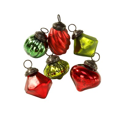 Picture of Botanical Christmas - Glass Baubles