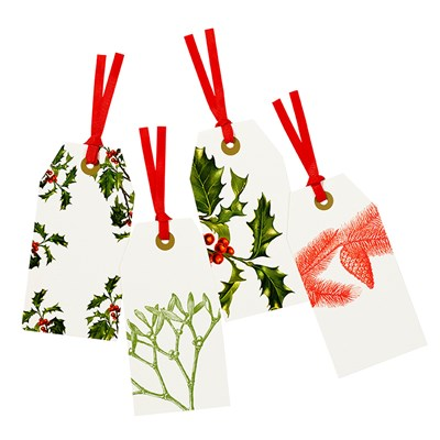 Picture of Botanical Christmas - Tags