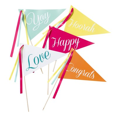 Picture of Be Happy - Flags