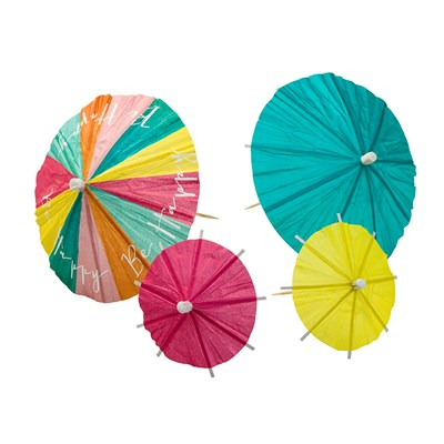 Picture of Be Happy - Party Parasols