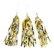 Picture of Be Happy - Gold Tassels