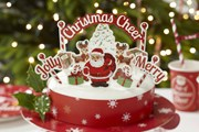 Picture of Christmas Cheer - Cake Decoration Toppers
