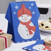 Picture of Christmas Cheer - Napkins - Christmas Jumper - Snowman