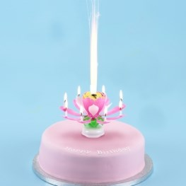 Picture of Cake Central - Show Stopper Pink (Flower Fountain)