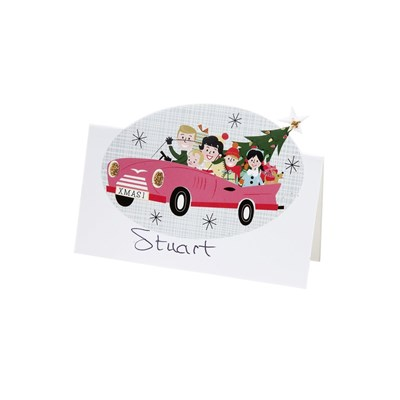 Picture of Christmas At Our House - Car Place Cards