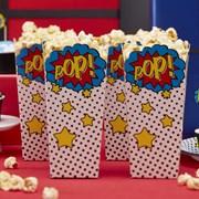 Picture of Comic Superhero - Popcorn Boxes