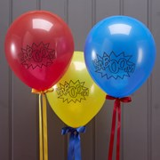Picture of Comic Superhero - Balloons