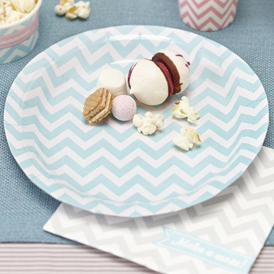 Picture of Chevron Divine - Paper Plates