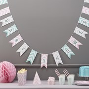 Picture of Chevron Divine - Baby Shower Bunting