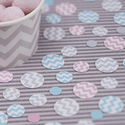 Picture of Chevron Divine - Table Confetti