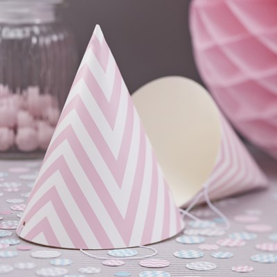 Picture of Chevron Divine - Party Hat - Pink