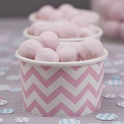 Picture of Chevron Divine - Treat Tubs - Pink