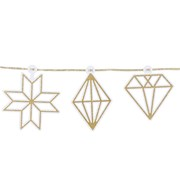 Picture of Decadent Decs - Gold Diamond Glitter Garland