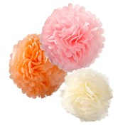 Picture of Decadent Decs - PomPoms Pastel Mix