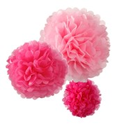 Picture of Decadent Decs - PomPoms Pink Mix