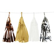 Picture of Decadent Decs - Metallic Tassel Garland