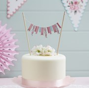 Picture of Floral Fancy - Cake Bunting