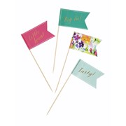 Picture of Floral Fiesta - Large Canape Flags