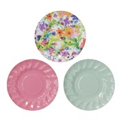 Picture of Floral Fiesta - Mini Canape Plates