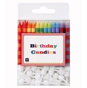 Picture of Birthday Bash - Striped Candles