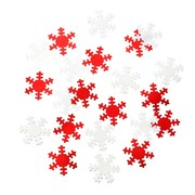 Picture of Ho Ho Ho - Snowflake Table Scatter