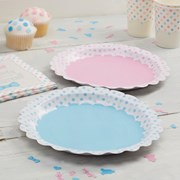 Picture of Little Lady or Mini Mister - Paper Plates