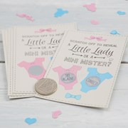 Picture of Little Lady or Mini Mister - Scratch Card Game - Boy