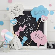 Picture of Little Lady or Mini Mister - PhotoBooth Props