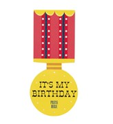 Picture of Magic Party - Light Up Medal