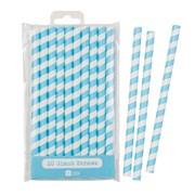 Picture of Mix & Match - Jumbo Blue Straws