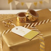 Picture of Metallic Perfection - Foiled Washi Tape - Gold