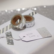 Picture of Metallic Perfection - Foiled Washi Tape - Silver