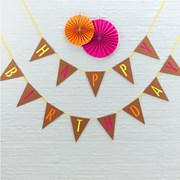 Picture of Neon Birthday - Happy Birthday Bunting