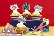 Picture of Pop Art Party - Cupcake Cases & Toppers