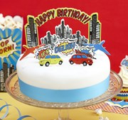 Picture of Pop Art Party - Cake Toppers - Birthday