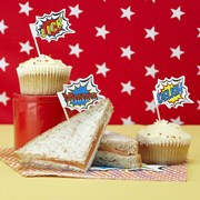 Picture of Pop Art Party - Food Flags