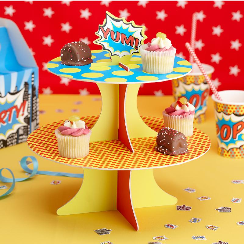 Superhero Cake Pop Stand