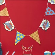 Picture of Pop Art Party - Bunting - Happy Birthday