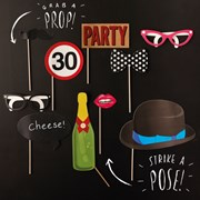 Picture of Photobooth Props - 30th Birthday