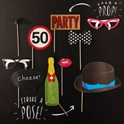 Picture of Photobooth Props - 50th Birthday