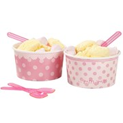Picture of Pink n Mix - Bowl & Spoons