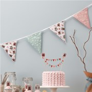 Picture of Patchwork Owls - Fabric Bunting