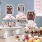 Picture of Patchwork Owls - Cupcake Kit
