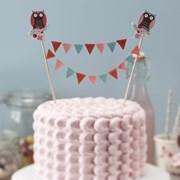 Picture of Patchwork Owls - Cake Bunting