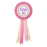 Picture of Pony Party - Birthday Girl Rosette Badge